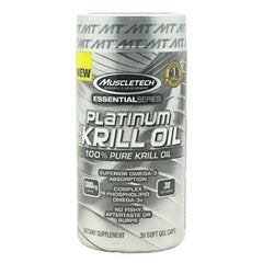 MuscleTech Essential Series ES Krill Oil - 30 Capsules - 631656604542
