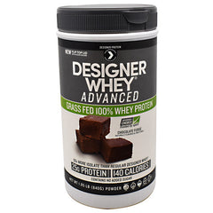Designer Protein Advanced Designer Whey - Chocolate Fudge - 1.85 lb - 844334011239