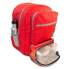 Fitmark Transporter Backpack - Red - 1 ea - 851025004555