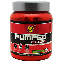 BSN Pumped Edge - Green Apple - 30 Servings - 834266001248
