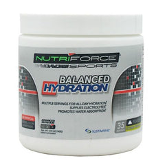 Nutriforce Sports Balanced Hydration - Coconut Pineapple - 35 Servings - 755244017290