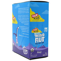 Clif Kid Organic Twisted Fruit - Grape - 18 ea - 722252380050