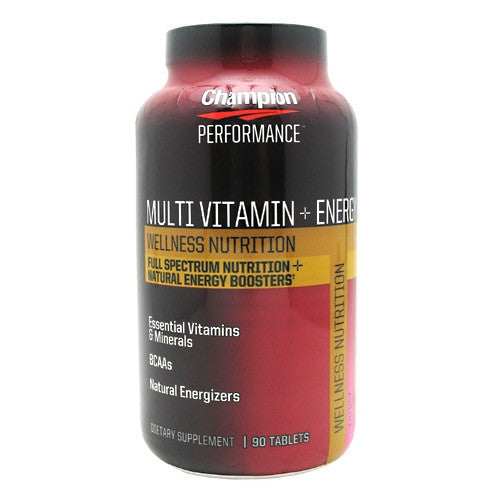 Champion Nutrition Wellness Nutrition Multi Vitamin + Energy - 90 Tablets - 027692202338