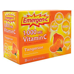 Emergen-C Health and Energy Booster - Tangerine - 30 Packets - 076314302024