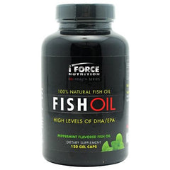 iForce Nutrition Fish Oil Peppermint - 120 ea - 081950001248