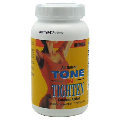 Universal Nutrition Tone N Tighten - 120 Capsules - 039442046321