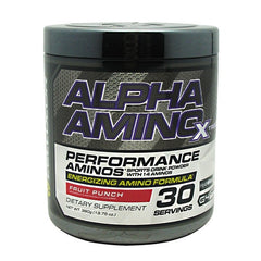 Cellucor Alpha Amino Xtreme - Fruit Punch - 30 Servings - 810390025701