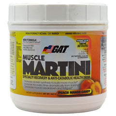 GAT Muscle Martini - Peach Mango Candy - 360 g - 859613648785