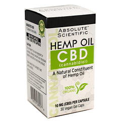 Absolute Scientific CBD - 30 ea - 708235089578