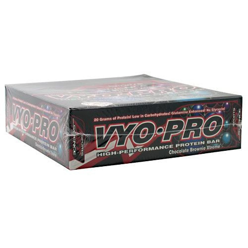 AST Sports Science Vyo-Pro High Performance Protein Bar - Chocolate Brownie Extreme - 12 Bars - 705077002482