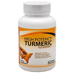 Divine Health High Potency Turmeric - 60 Capsules - 855522003578