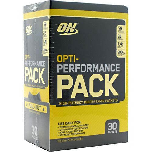 Optimum Nutrition Opti-Performance Pack - 30 Packets - 748927026917