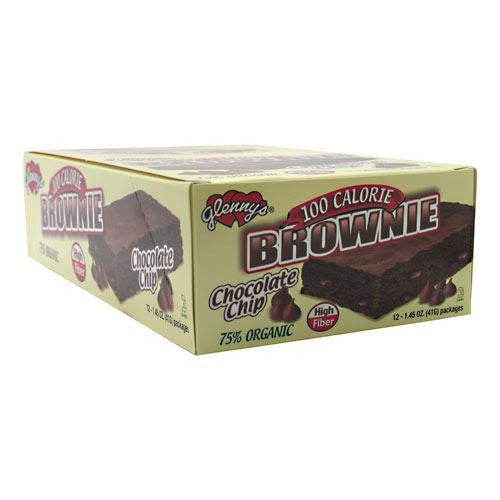 Glennys Brownie - Chocolate Chip - 12 Packages - 027393017316