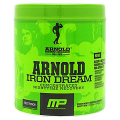 Arnold By Musclepharm Iron Dream - Fruit Punch - 30 Servings - 696859258329