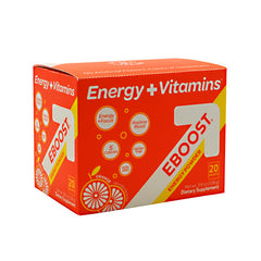 Eboost Eboost Energy Powder - Orange - 20 Packets - 094922804396