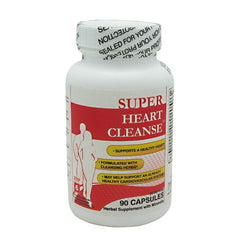 Health Plus Super Heart Cleanse - 90 Capsules - 083502550044
