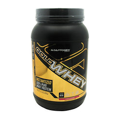 Adaptogen Science Gold Whey - Chocolate - 2 lb - 019962538438