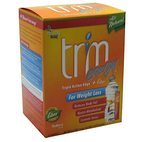 Healthy To Go! Trim Energy - TeaBerry - 24 ea - 850197001591