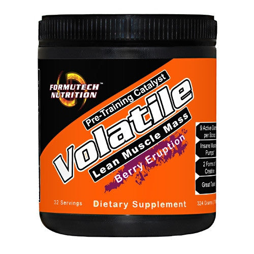 Formutech Nutrition Volatile - Berry Eruption - 32 Servings - 793573908803