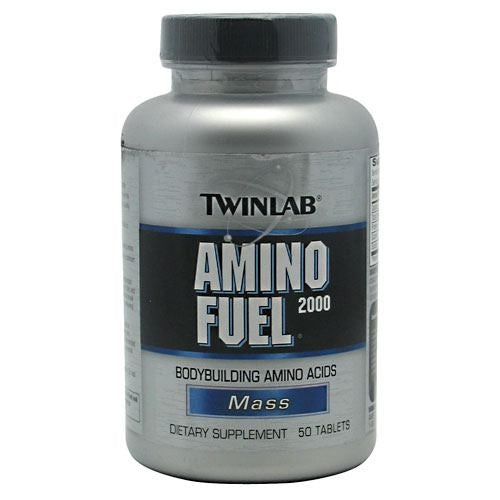 TwinLab Mass Amino Fuel 2000 - 50 Tablets - 027434002264