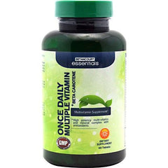 Betancourt Nutrition Betancourt Essentials Multiple Vitamin + Beta Carotene - 60 Tablets - 857487003914