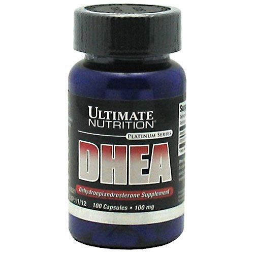 Ultimate Nutrition DHEA - 100 Capsules - 099071000323