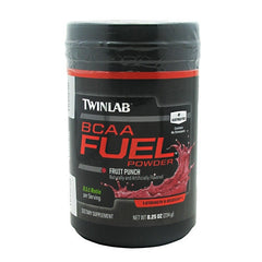TwinLab BCAA Fuel - Fruit Punch - 30 Servings - 027434041515