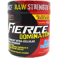 SAN Fierce Domination - Blue Raspberry - 40 Servings - 672898430421