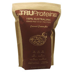 TruProteins 100% Australian Grass Fed Whey Protein - Coconut Cream Pie - 2.1 lb - 898635000768