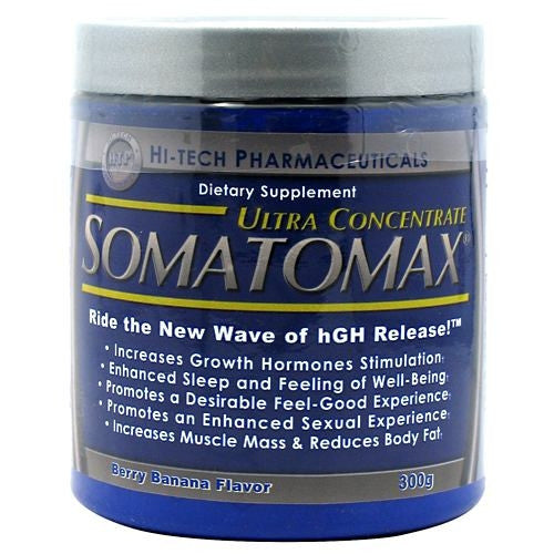 Hi-Tech Pharmaceuticals Somatomax Ultra Concentrate - Berry Banana - 20 Servings - 853598003744