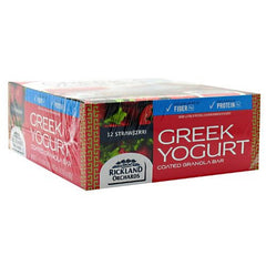 Rickland Orchards Greek Yogurt Bar - Strawberri - 12 Bars - 858411003567