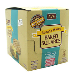 Chef Jays Baked Squares - Banana Walnut - 6 Packages - 678991011192