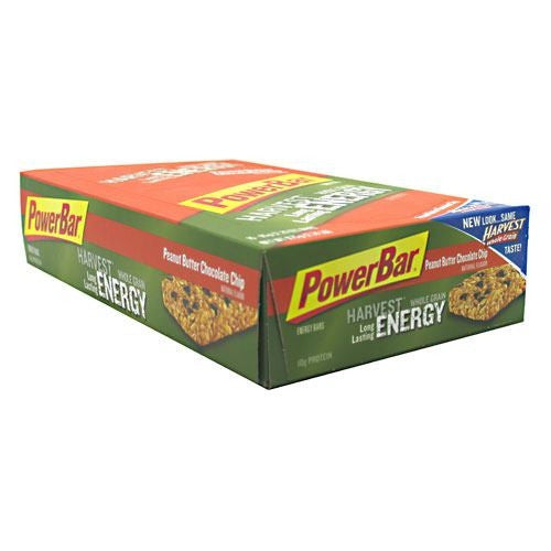 PowerBar Harvest Whole Grain Nutrition Bar - Peanut Butter Chocolate Chip - 15 Bars - 097421470604
