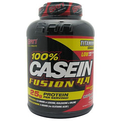 SAN 100% Casein Fusion 4.4 - Milk Chocolate Delight - 4.4 lb - 672898530664