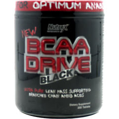 Nutrex BCAA Drive Black - 200 Tablets - 853237000615