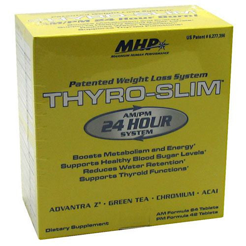 MHP Thyro-Slim - 126 Tablets - 666222111629