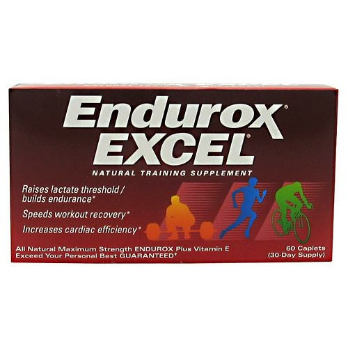 Pacifichealth Laboratories Endurox Excel - 60 Caplets - 605439030118