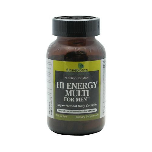 Futurebiotics Hi Energy Multi For Men - 120 Tablets - 049479001996