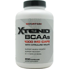 Scivation Xtend BCAA Caps - 200 Capsules - 812135020828