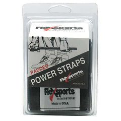Flexsports International Padded Power Straps - Black -   - 718774332301