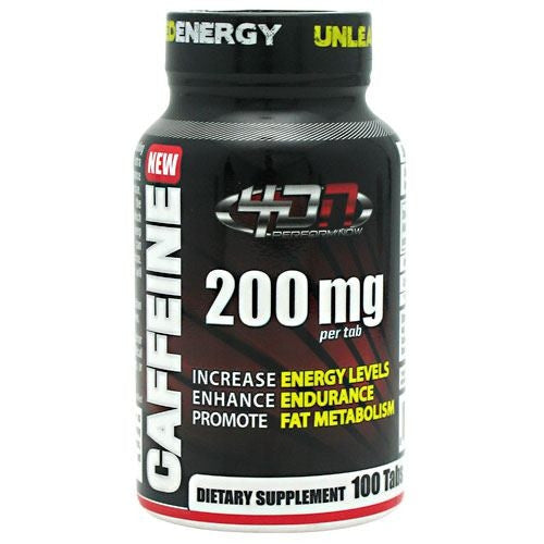 4 Dimension Nutrition Caffeine - 100 Tablets - 856036003337
