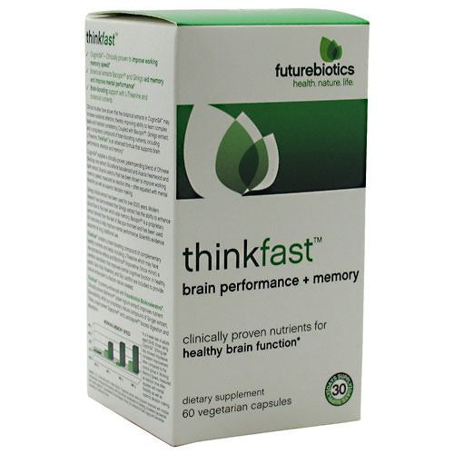 Futurebiotics Thinkfast - 60 Capsules - 049479025091