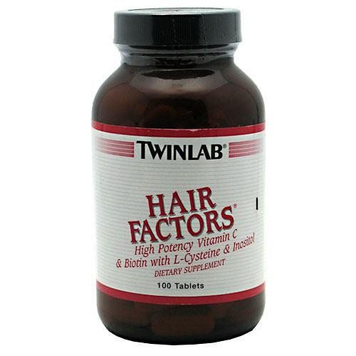 TwinLab Hair Factors - 100 Tablets - 027434016414