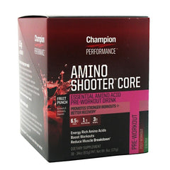 Champion Nutrition Amino Shooter Core - Punch - 18 Packets - 027692134707