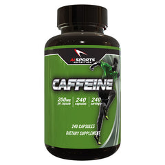 AI Sports Nutrition Caffeine - 240 Capsules - 804879572701