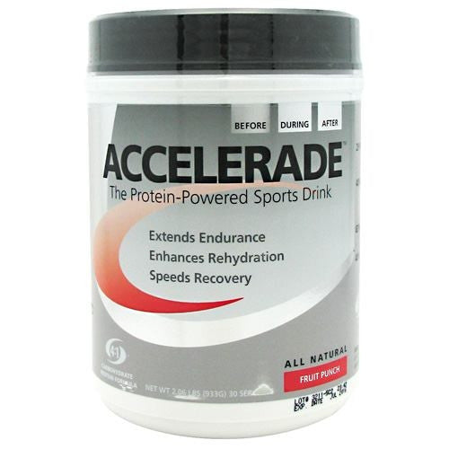 Pacifichealth Laboratories Accelerade - Fruit Punch - 30 Servings - 605439070817