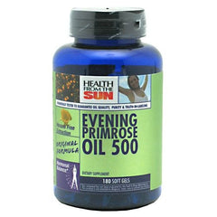 Health From The Sun Evening Primrose Oil 500 - 180 ea - 010043010713