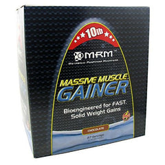 MRM Massive Muscle Gainer - Chocolate - 10 lb - 609492730022