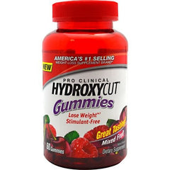 MuscleTech Pro Clinical Hydroxycut Gummies - Mixed Fruit - 60 ea - 631656630022