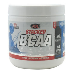 Athletic Xtreme Stacked BCAA - Clear Blue Raspberry - 40 Servings - 791851111532